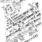 Коробка Mercedes G210-16 по запчастям