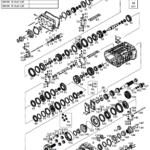 Коробка ZF 16S109 по запчастям