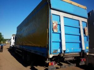 Переоборудование грузовиков DAF