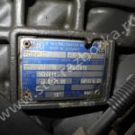Коробка передач ZF 8S181 - бирка