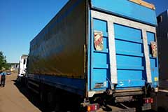 Переоборудование грузовиков Mercedes