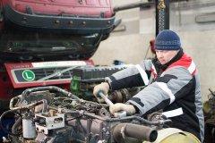 Ремонт двигателей грузовиков Volvo
