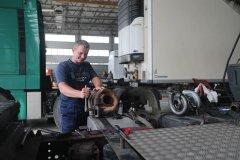 Ремонт ходовой части грузовиков DAF