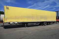 Ремонт прицепов и полуприцепов грузовиков DAF