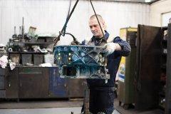 Ремонт трансмиссии грузовика Iveco