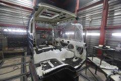 Кузовной ремонт грузовиков Volvo