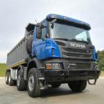 Scania P-series 8*4 самосвал 2014