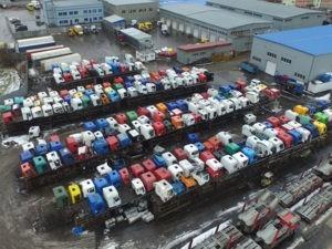 Разборка грузовиков в Долматово