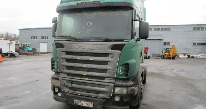 В разборке Scania 2004 г.