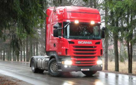 Scania R400 08.01.2019