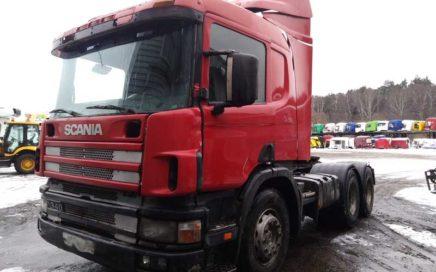 В разборке Scania P114 2005г.