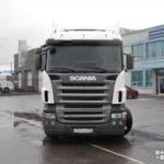 Scania R420 тягач 2009