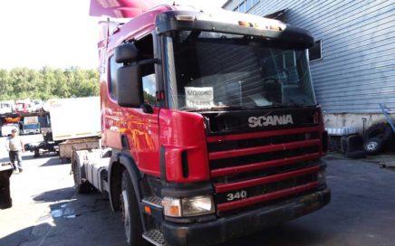 В разборке Scania P114 2006г.