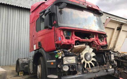 В разборке Scania P360 2013 года.