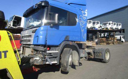 В разборке Scania P340 2008 года