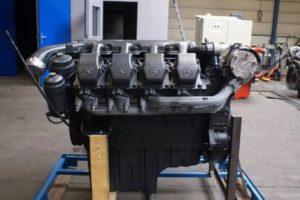 ДВС Mercedes  OM 502