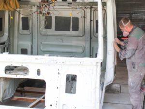 Кузовной ремонт грузовиков Mercedes