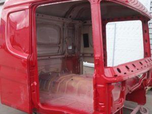 Кузовной ремонт грузовиков Scania