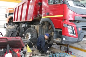 Ремонт ходовой части грузовиков Volvo