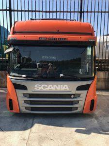 Кабина Scania CG19