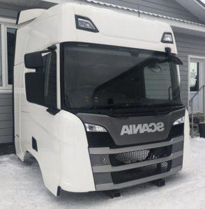 Кабина Scania CR20